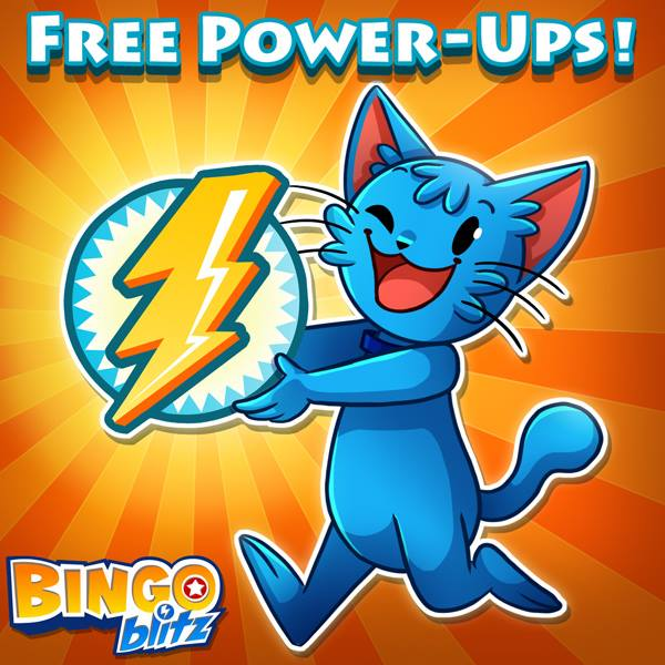 Bingo Blitz - Free Power UPS 8th October 2014