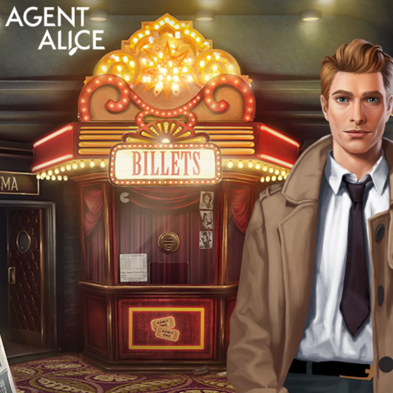 Agent Alice - Travel back in time to the 1960's