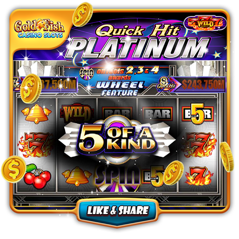 Gold fish casino free coins 10th jan 2017 social for Gold fish casino
