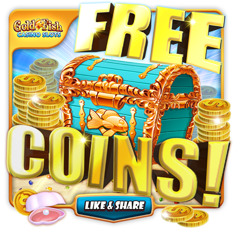 Gold fish casino free coins 27th may 2017 social for Gold fish casino