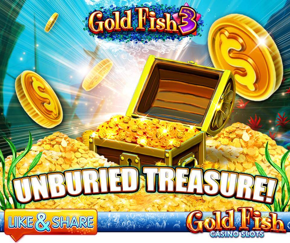 Gold fish casino free coins 14th dec 2017 social games for Gold fish casino slots